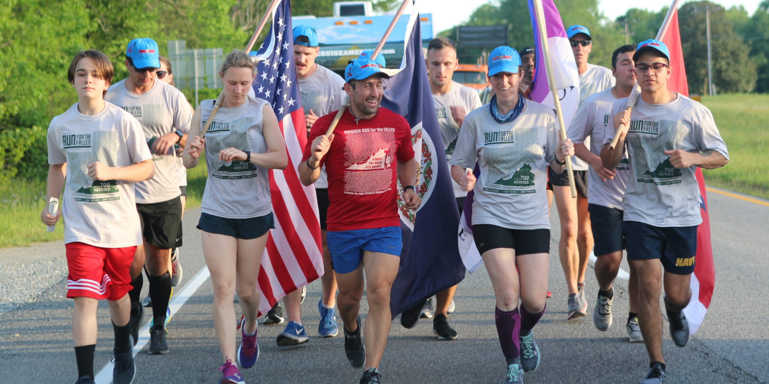 Run for the fallen Core runners